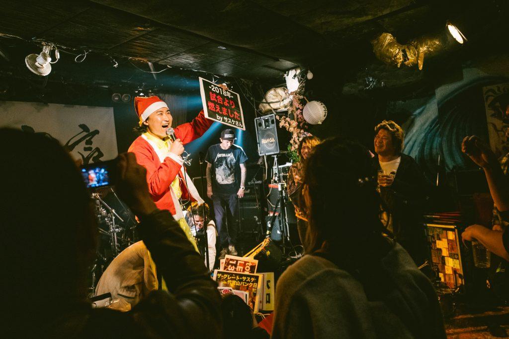 2019.12.22 あわてんぼうの三茶クロース/立花孝之(代官山パンク日和)